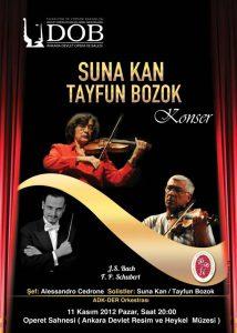 2012 Suna Kan Tayfun Bozok Konseri