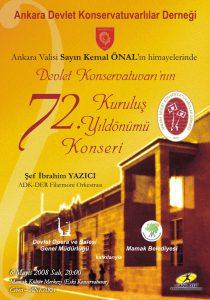 72. Yıl Kuruluş Yıldönümü Konseri