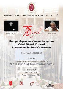 75. yıl Kompozisyon ve Keman Yarışması