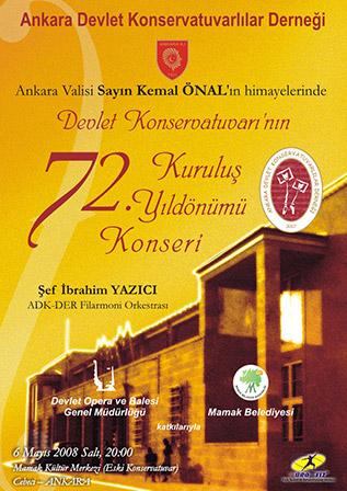 72. Yıl Kuruluş Konseri