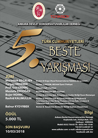 ADK-Der Türk Cumhuriyetleri 5. Beste Yarışması